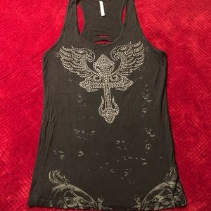 Blingy tank top